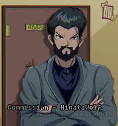 Commission Anime Retro (self-portrait) by Hinata1495