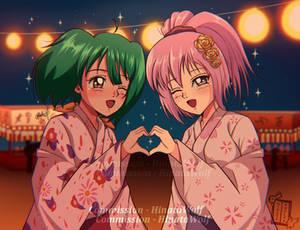 Ranka and Momo (Commission)