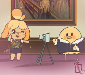 Isabelle and Birbman
