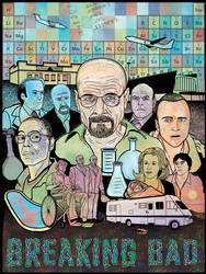 Breaking Bad poster by JoeAngelillo