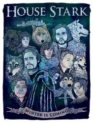 House Stark by JoeAngelillo
