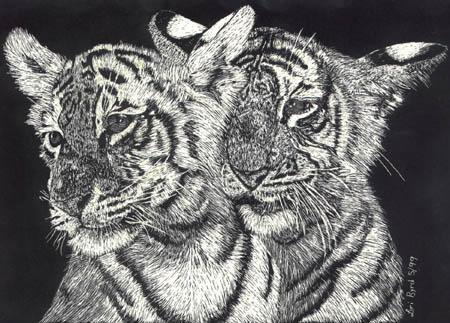 Tiger Kittens by iggabod