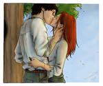Harry and Ginny, nami86