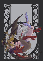 Darkstalkers, frozenlilacs by MissingHorcrux