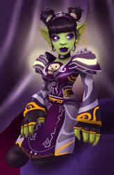 Purple priestess by FatVonD