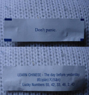 Hitchhiker's fortune