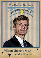 Jan Egeland Poster by xLilu