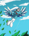 Flying Smurf