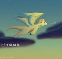 SoM:Flammie by pink-ninja