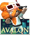 LBP2 AVALON stamp by pink-ninja
