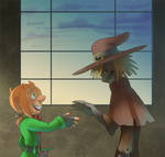 Scarecrow And Mad Hatter_First meeting