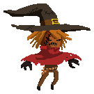 Original Pixel scarecrow size icon by pink-ninja