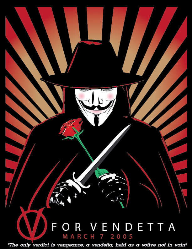 V For Vendetta Movie Poster Best Comic Book Movie ...
