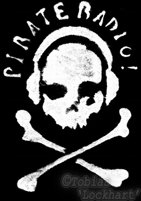 Pirate Radio Tee design by Tobias-lockhart on DeviantArt