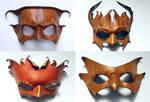 Nature Spirit Masks 01