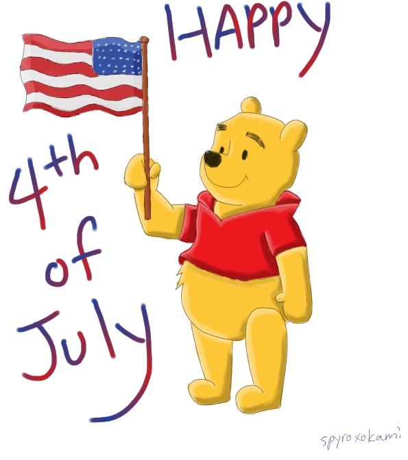 Disney happy 4th of july wallpaper
