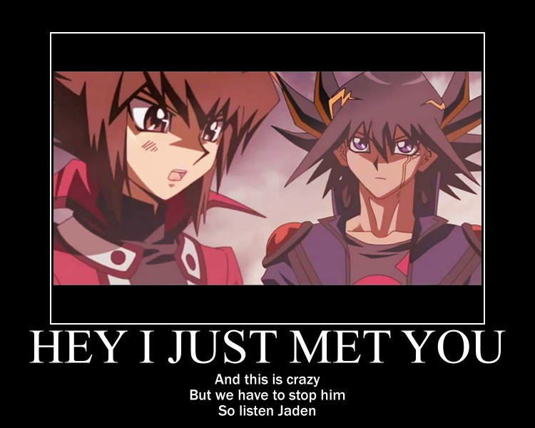 Yugioh Bonds Beyond Time Motivational Poster by AgateophobicDetraque