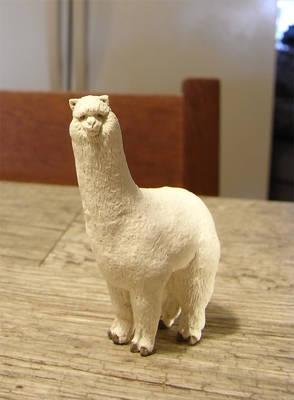 Clay Alpaca