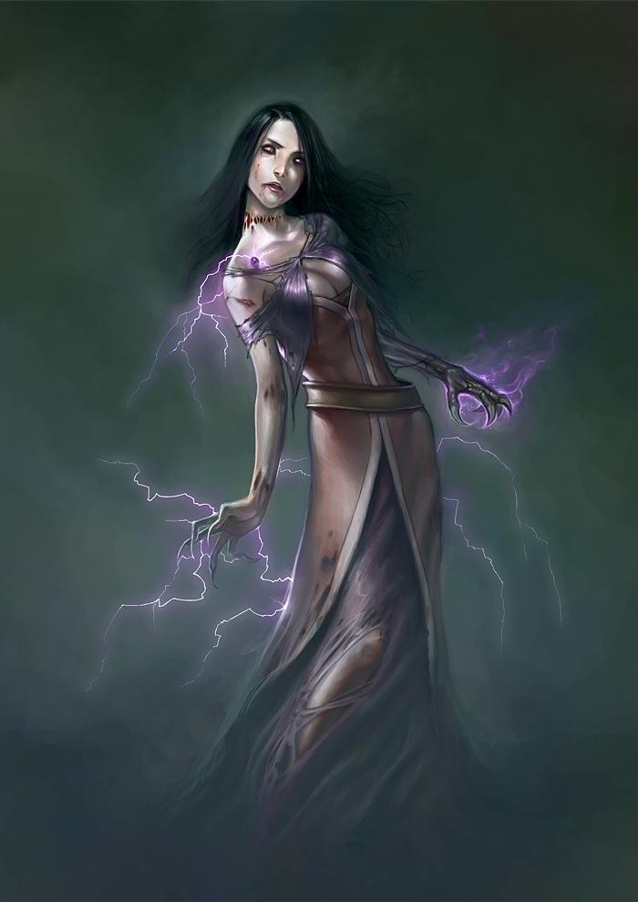 Undead Lady Prestor by gooloo0-o