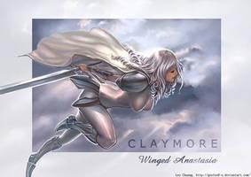 Claymore Anastasia by gooloo0-o