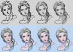Elsa step by step