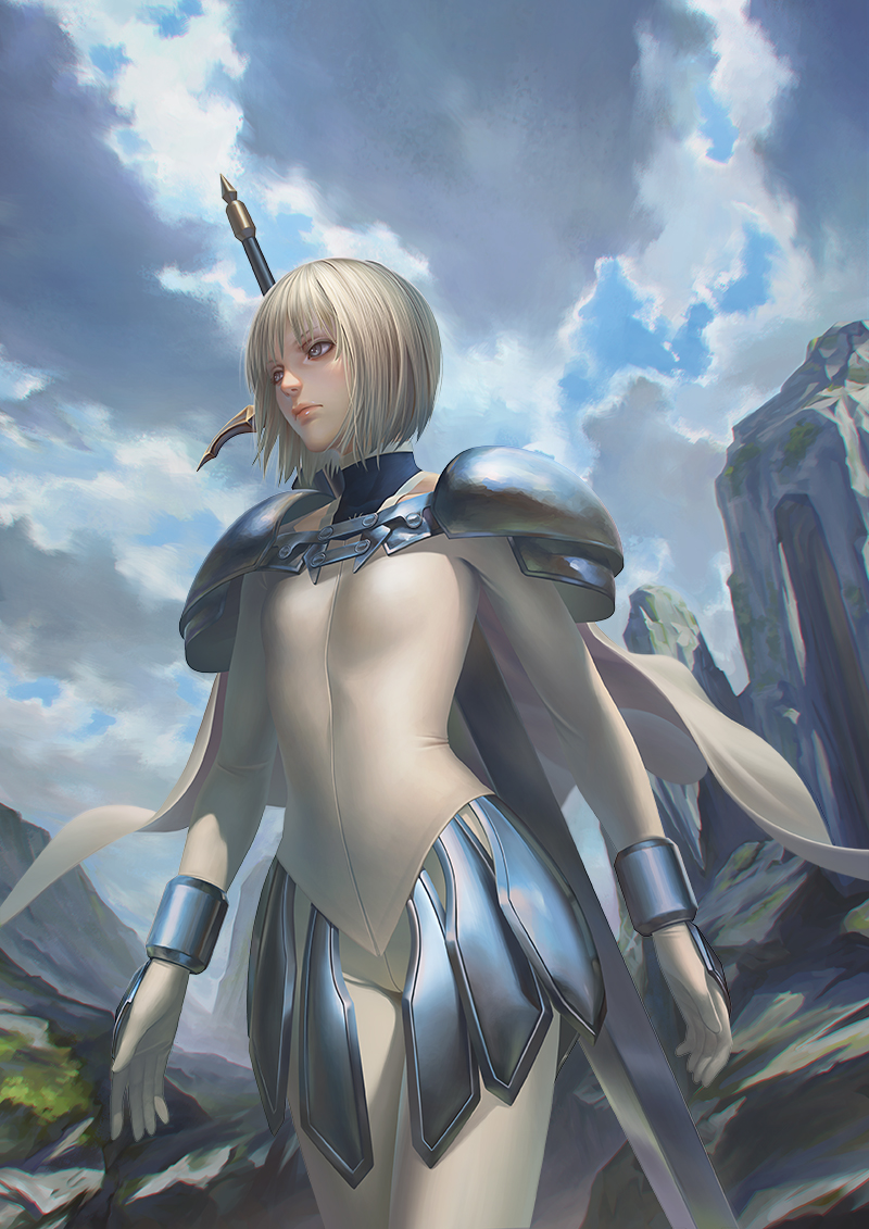 Claymore Clare by gooloo0-o