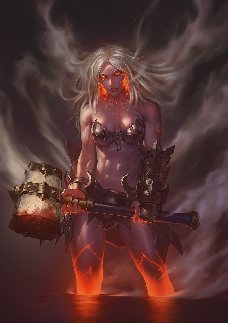 Wrath of the berserker by gooloo0-o