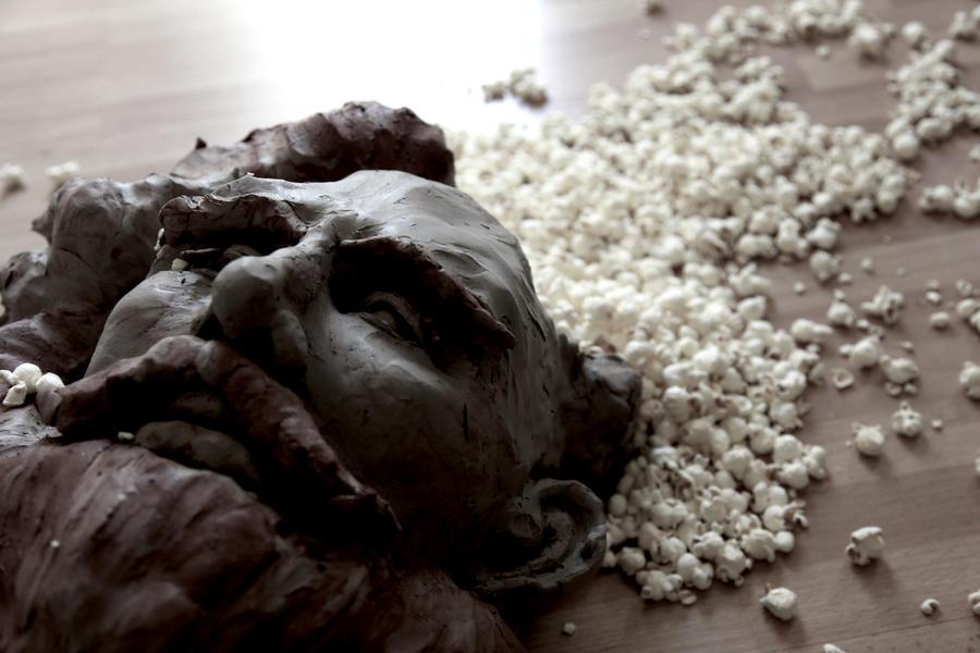 Popcorn brain sculpture by digitalairair
