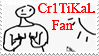 Cr1tiKaL Stamp by Mechasupial