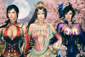 Female Warriors (DW8) by YaninaJohnson