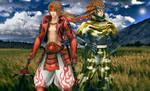 Yukimura and Sasuke by YaninaJohnson
