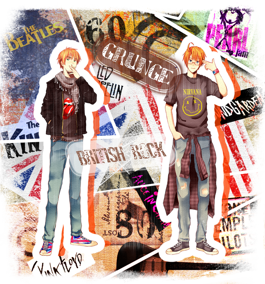 Grunge and Rock by Anniih