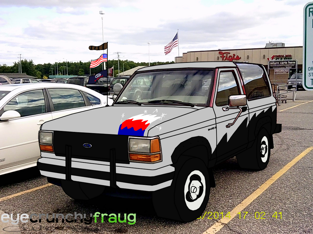 My 1990 ford bronco ii by eyecrunchyfraug