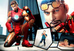 Giant Tony Stark - Imagining The Possibilities