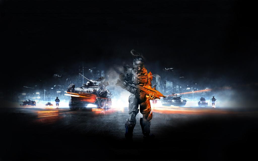 halo vs battlefield wallpaper - photo #6