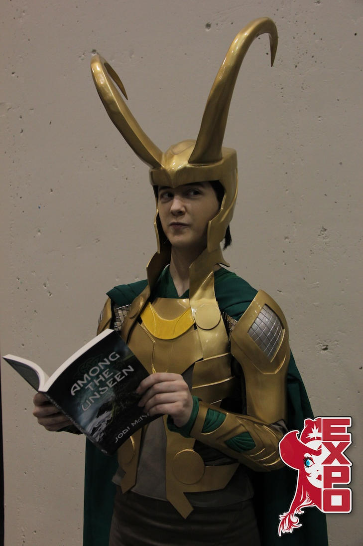 Loki cosplay by bambistark