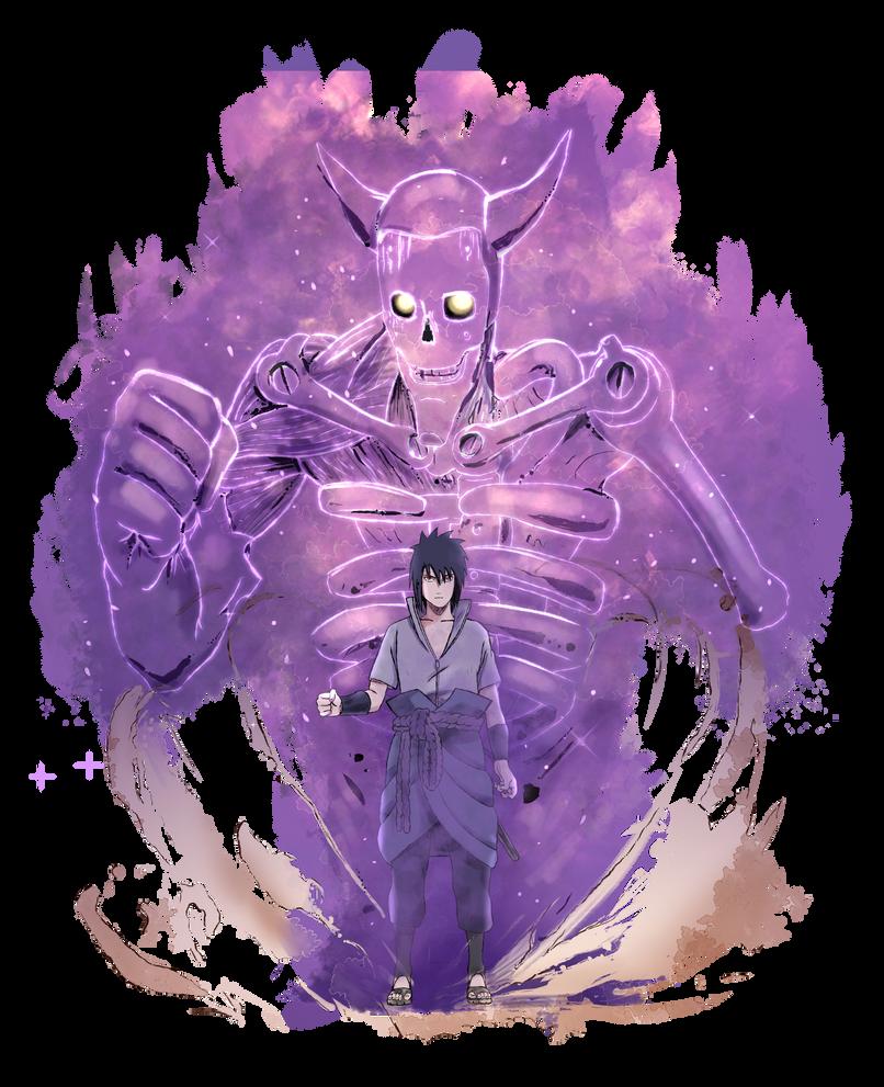 Sasuke Susano by sersorroza