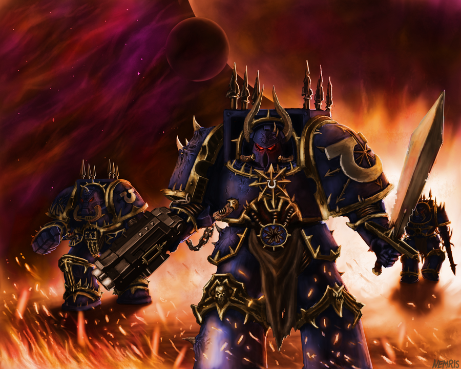 And the Foulest of Them All are the Ultramarines by Nemris