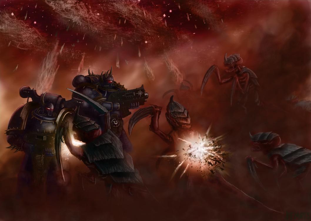 Grey Knights Torso Warhammer 40K Bitz 3311