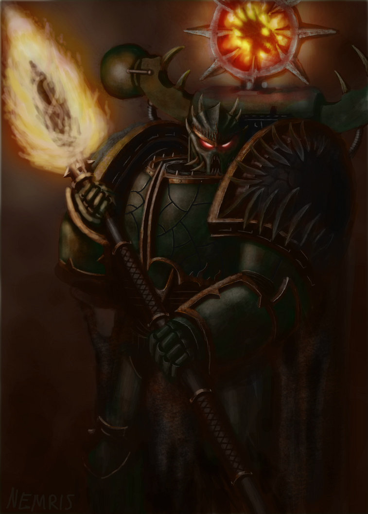 Chaos Lord He'stan by Nemris