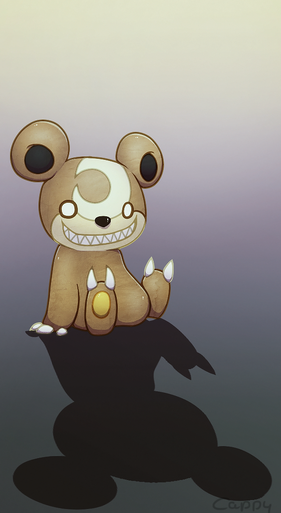 Teddiursa by cappydarn on deviantART