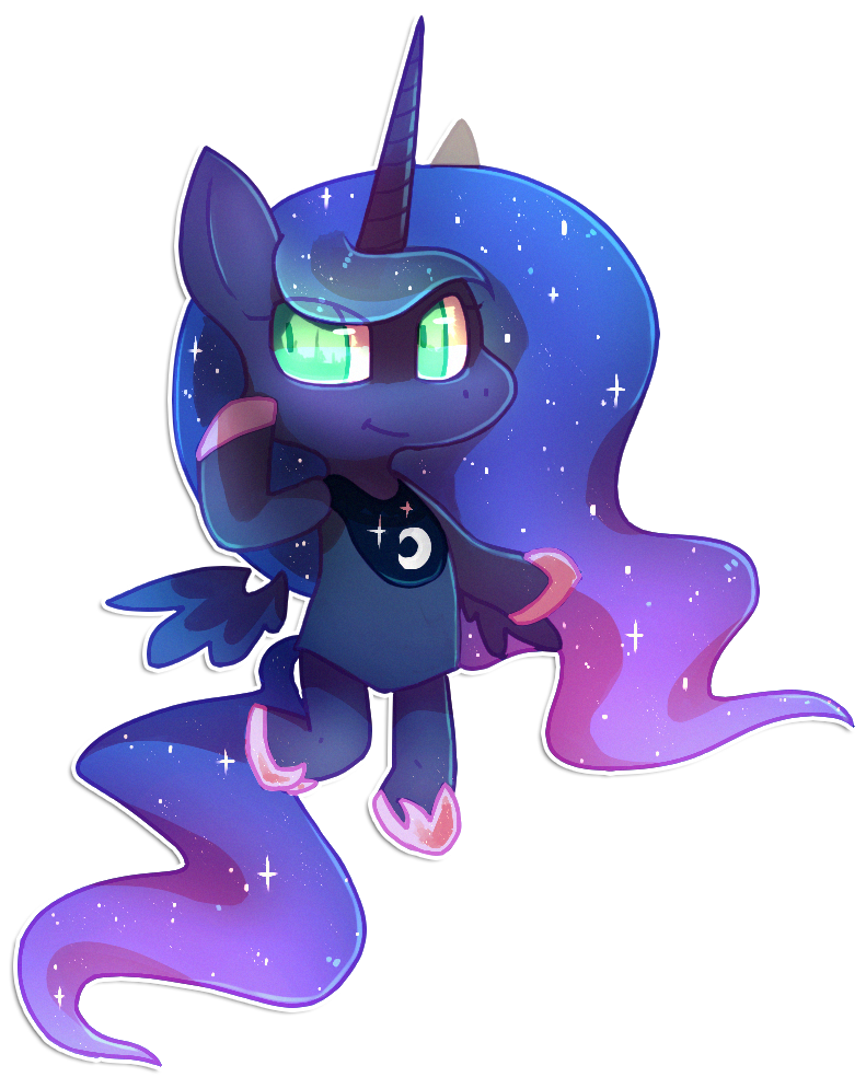 Luna by cappydarn
