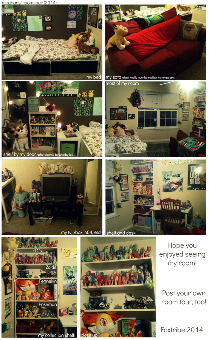 My room Tour 2014 by foxtribe