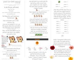 pixel blink tutorial using Sai by foxtribe