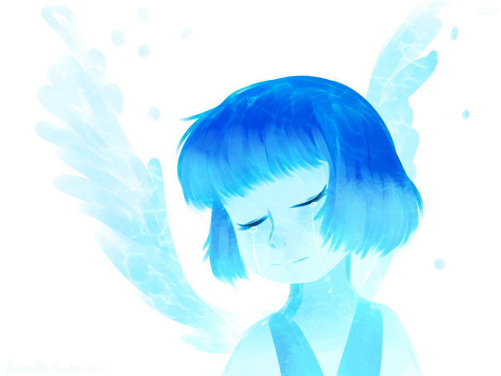 Steven Universe Lapis lazuli fanart Lapis belongs to Cartoon Network