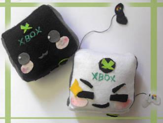 Xbox_360 plush by NyankoS