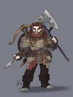 Rorik The Beast Slayer by ThatweirdguyJosh