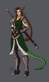 Draconic baroness