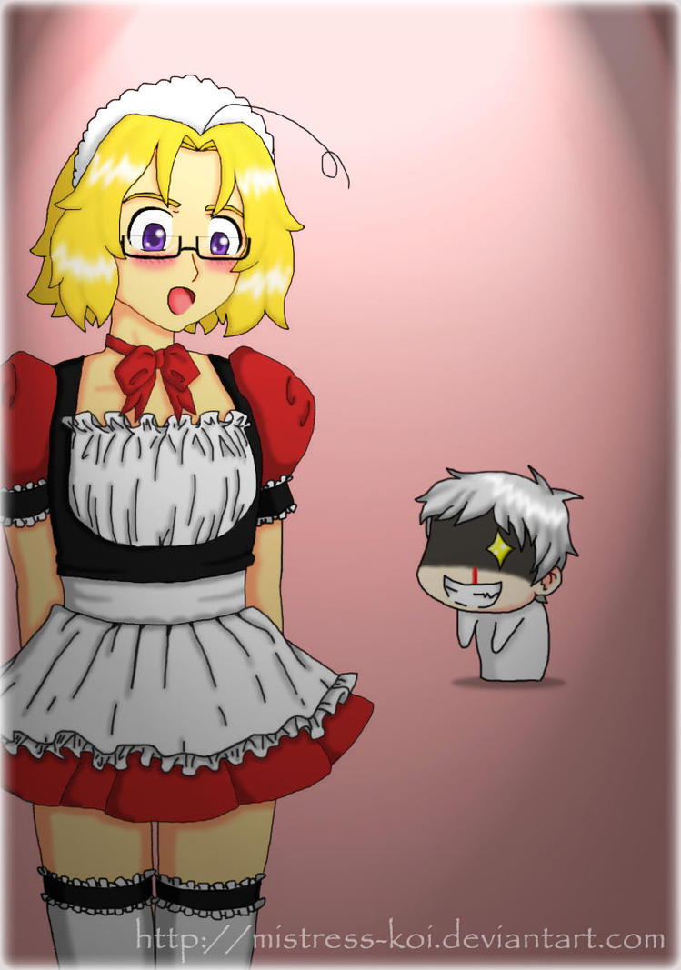 APH ::PruCan - Maple Maid:: AT by Mistress-Koi