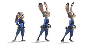 Judy Hopps Character Model - Zootopia